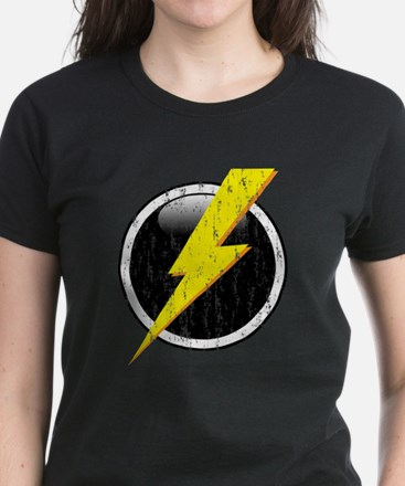 Lightning Bolt Distressed T-Shirt