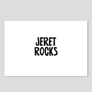Jeret Rocks Postcards (Package of 8)