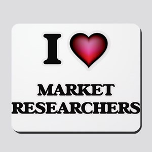 I love Market Researchers Mousepad