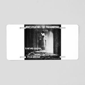Paranormal Passion Aluminum License Plate
