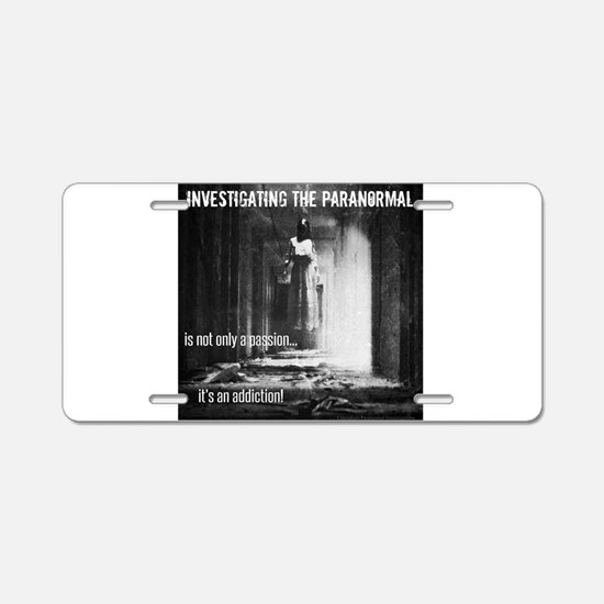 Paranormal Passion Aluminum License Plate