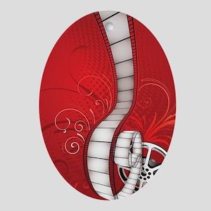 FILM REEL Oval Ornament