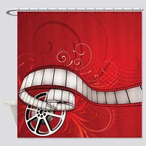 FILM REEL Shower Curtain