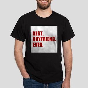 Red Best Boyfriend Ever T-Shirt