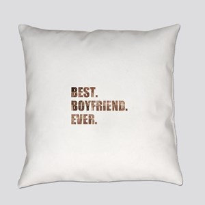Grunge Brick Best Boyfriend Ever Everyday Pillow