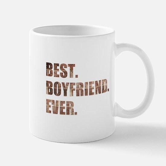 Grunge Brick Best Boyfriend Ever Mugs