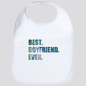 Best Boyfriend Ever Arty Grunge Bib