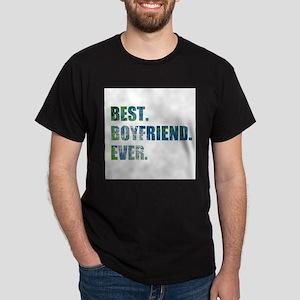 Best Boyfriend Ever Arty Grunge T-Shirt