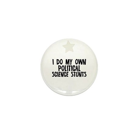 I Do My Own Political Science Mini Button (10 pack