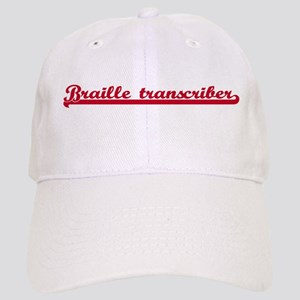 Braille transcriber (sporty r Cap