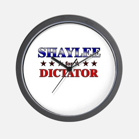 SHAYLEE for dictator Wall Clock