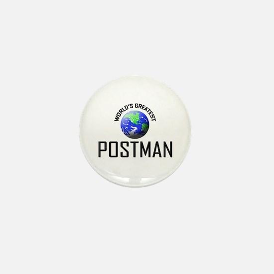 World's Greatest POSTMAN Mini Button