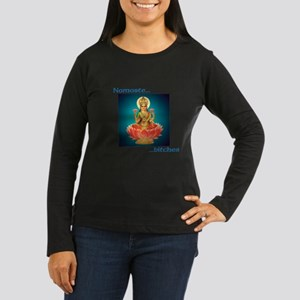 Namaste Goddess Long Sleeve T-Shirt