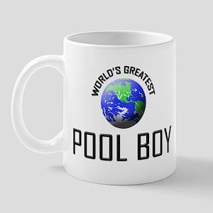 World's Greatest POOL BOY Mug