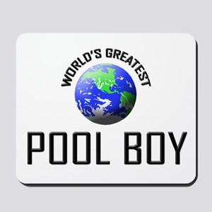World's Greatest POOL BOY Mousepad