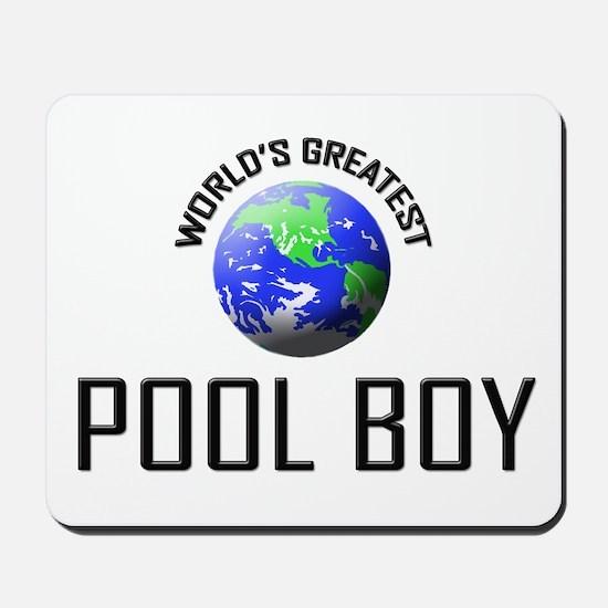 World's Greatest POOL BOY Mousepad