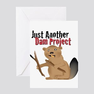 Another Dam Greeting Card