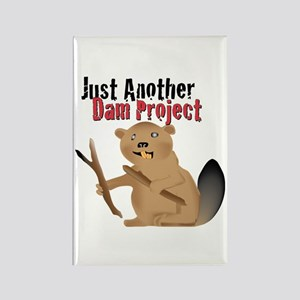 Another Dam Rectangle Magnet