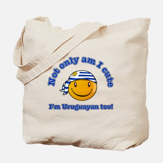 Not only am I cute I'm Uruguayan too Tote Bag