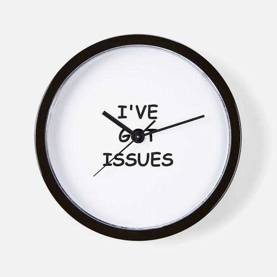 I'VE GOT ISSUES Wall Clock