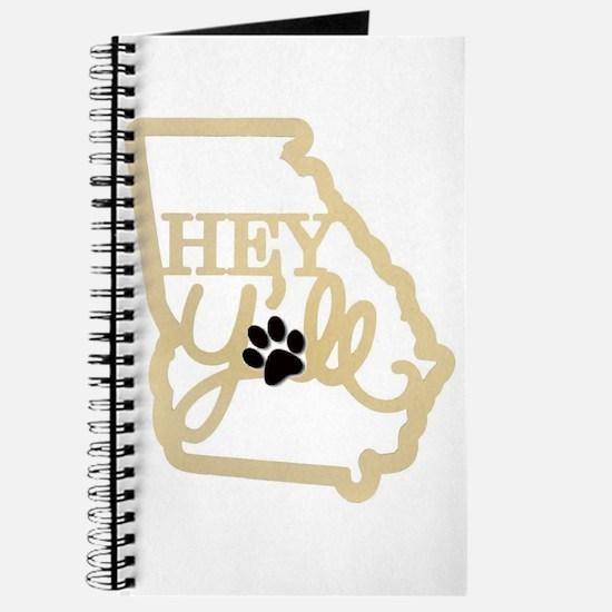 Georgia Hey Yall, dog paw Journal