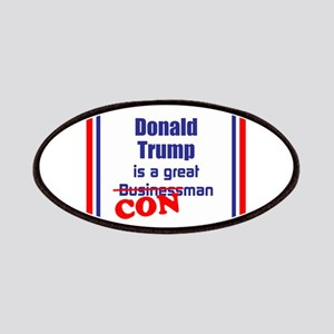 Trump is a con man Patch