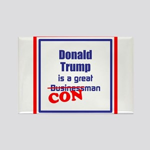 Trump is a con man Magnets