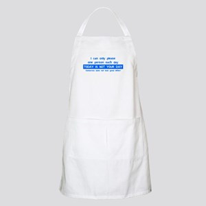 Not Your Day... BBQ Apron