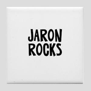 Jaron Rocks Tile Coaster