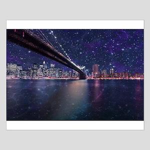 Spacey Manhattan Skyline Posters