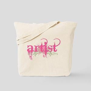 Artist Grunge Tote Bag