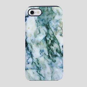 Gray & Light Blue-Green iPhone 8/7 Tough Case