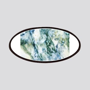 Gray & Light Blue-Green Faux Marble Patch