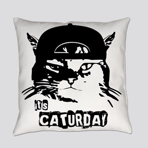 Caturday Everyday Pillow