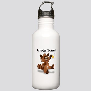 Party Raccoon Stainless Water Bottle 1.0L