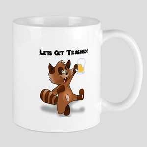 Party Raccoon Mugs
