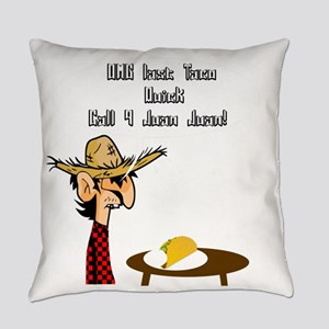 Taco Humor Everyday Pillow