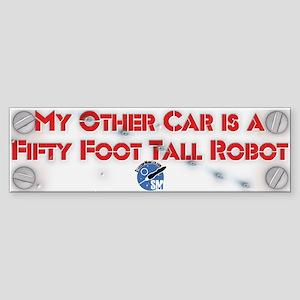 Robot StarshipModeler.com Bumper Sticker