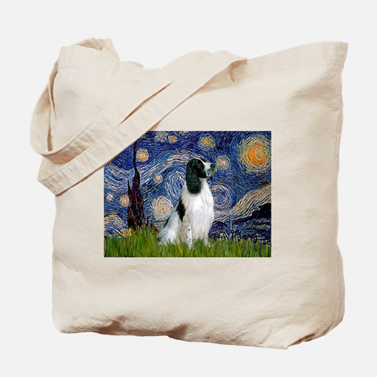 Starry / Eng Springer Tote Bag