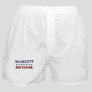 SCARLETT for dictator Boxer Shorts