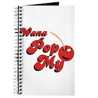 Wana Pop My Cherry? Journal
