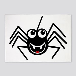 Smiling Spider 5'x7'Area Rug