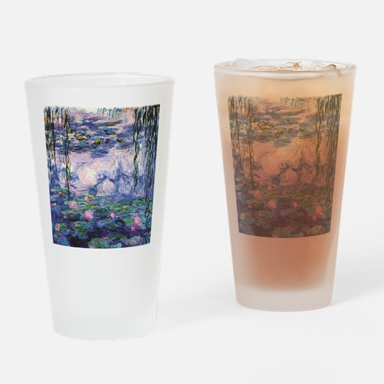 Cool Lotus Drinking Glass