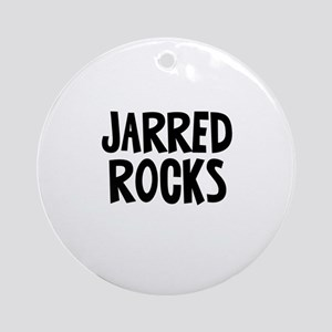 Jarred Rocks Ornament (Round)