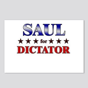 SAUL for dictator Postcards (Package of 8)