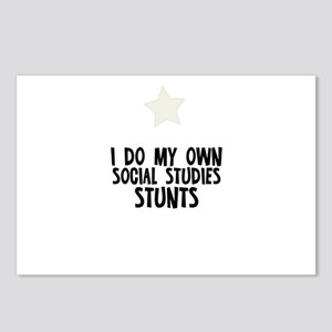 I Do My Own Social Studies St Postcards (Package o