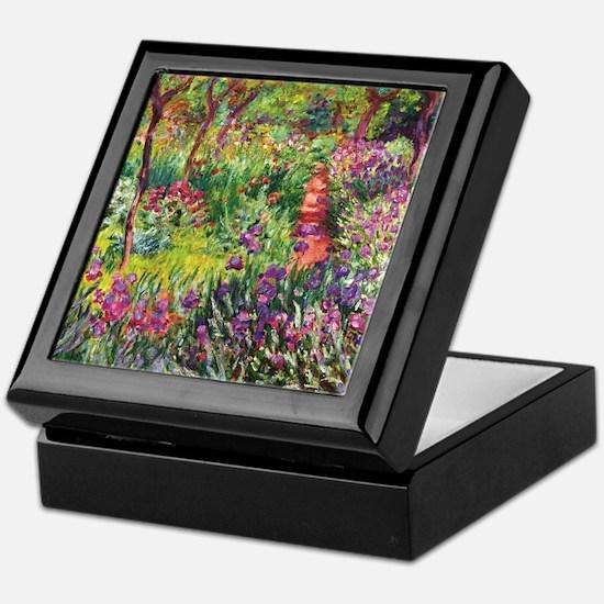 Unique Monet Keepsake Box