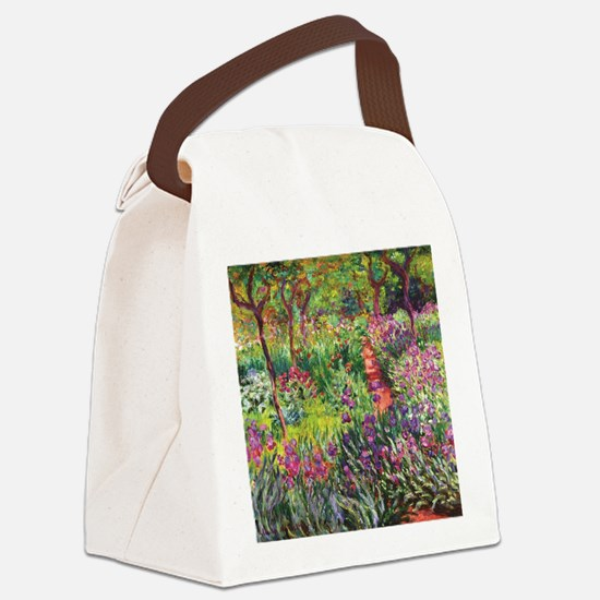 Monet Canvas Lunch Bag