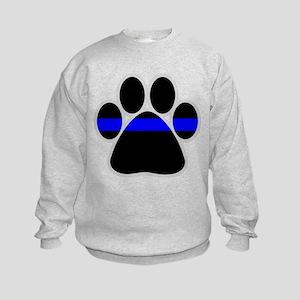 bluelinebadge4dark4 Sweatshirt