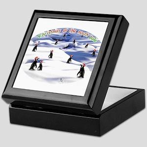 Chimp Christmas Keepsake Box